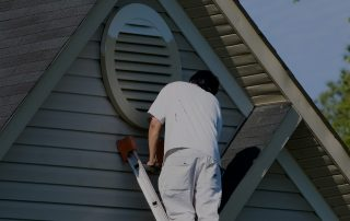 Painter Painting Home Exterior