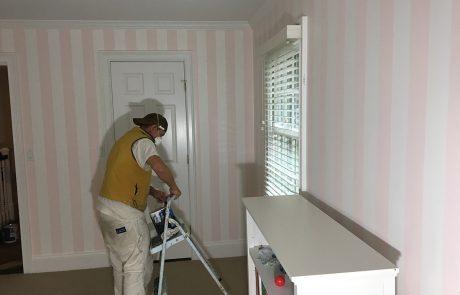 Pink & White Painted Nursery