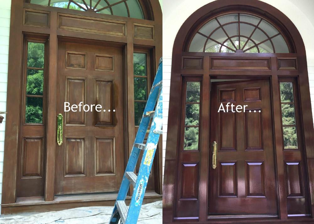 Doorway Before & After