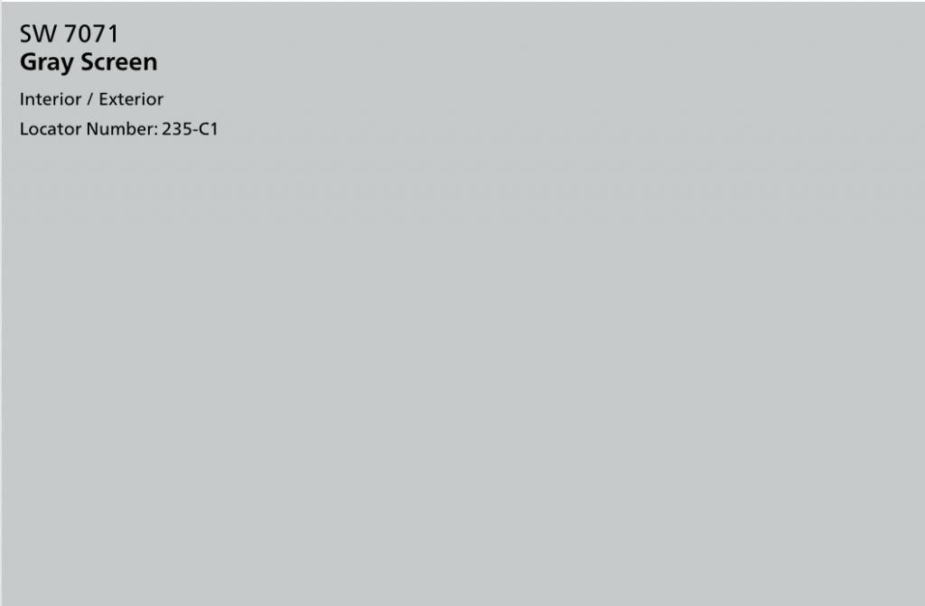 Gray Screen: