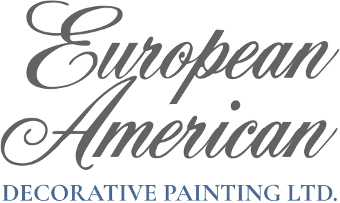 European American Decorative Painting Logo