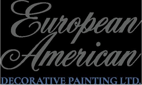 European American Decorative Painting Logo