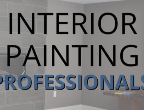 Interior Painting Professionals!